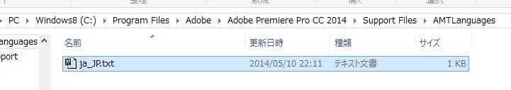 それらしきファイル発見